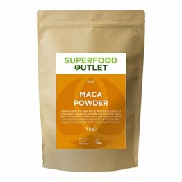 Raw Maca Pulver | 1KG | Superfood Outlet - 1