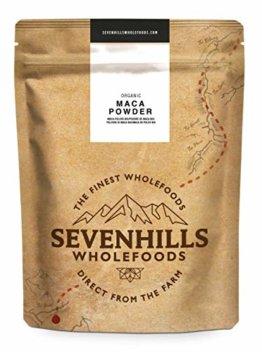Sevenhills Wholefoods Roh Maca-Pulver Bio 1kg - 1