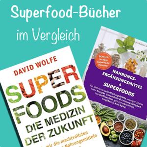 Maca und Superfood Bücher